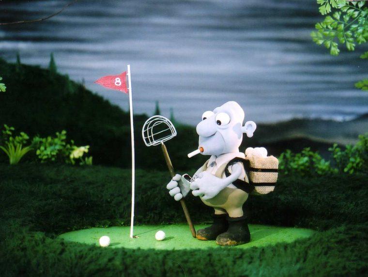 18 golf course